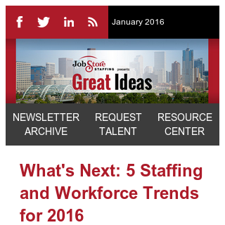 5 Workforce Trends for 2016