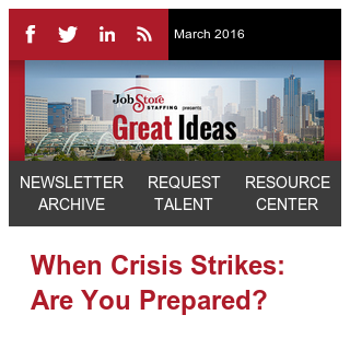 Reader, are you ready for the crisis?